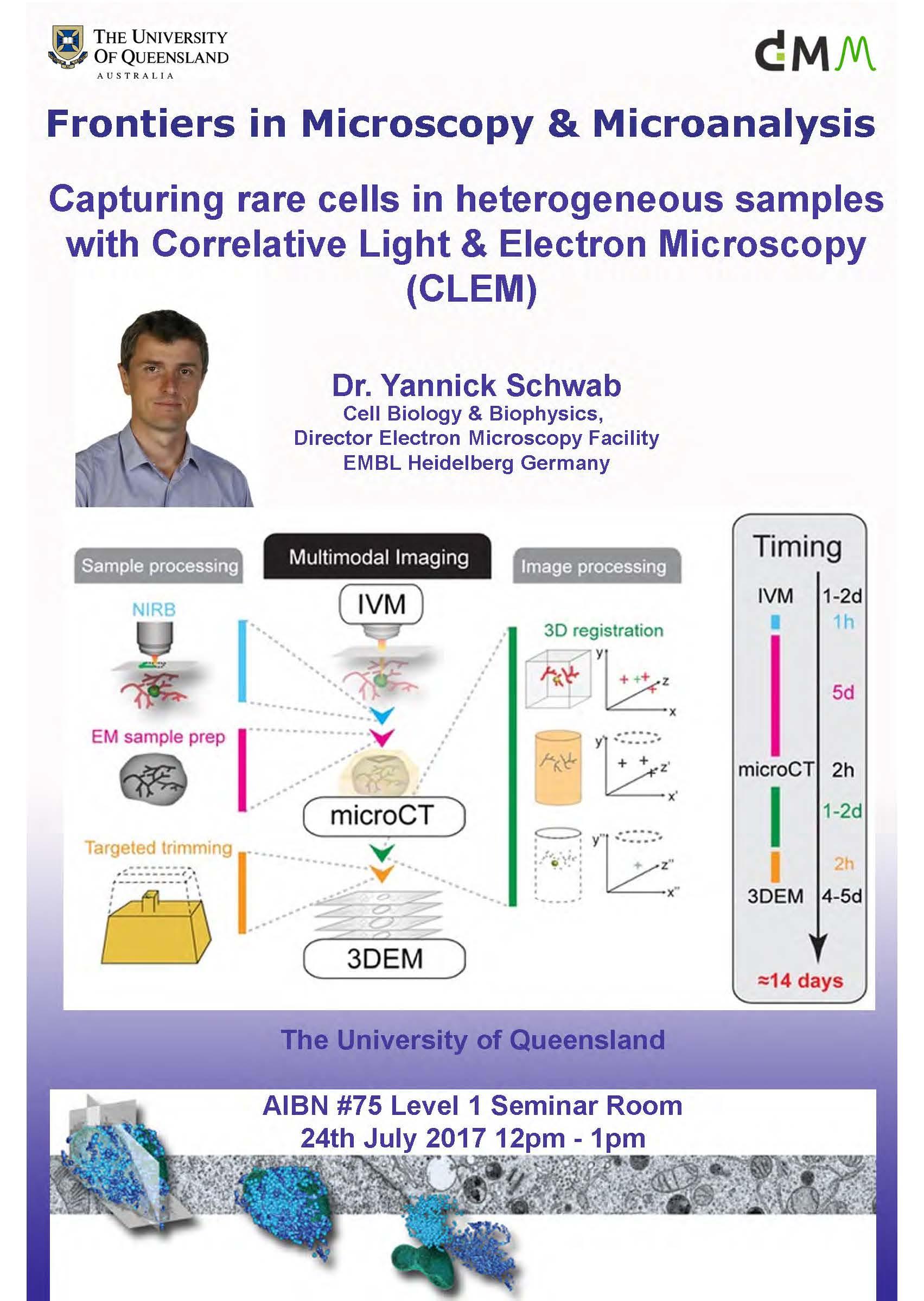 Seminars 2017 - Centre for Microscopy and Microanalysis - University